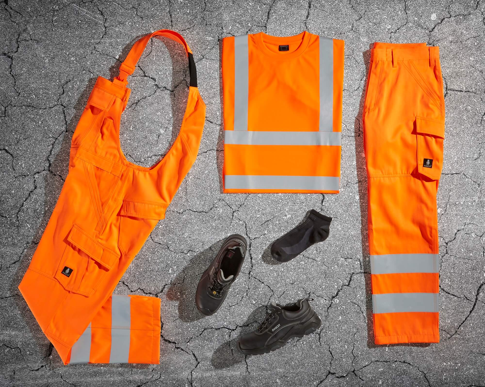 MASCOT® SAFE LIGHT - Naranja fluorescente - Ropa de seguridad